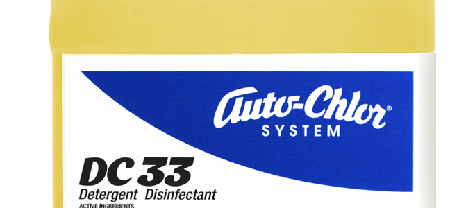 EPA Approved Disinfectant. auto-chlor, DC33, detergent disinfectant, covid-19 prevention