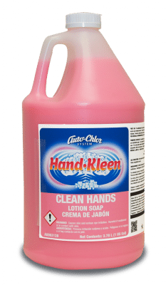 hand kleen, clean hands, lotion hand soap, auto-chlor, epa approved hand soap